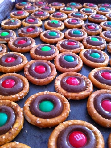 Sweet & Salty Pretzel Chocolate Christmas Treats Recipe