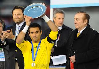 Villar Mejor Arquero de la Copa América 2011