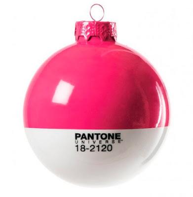 Bola de Navidad Pantone