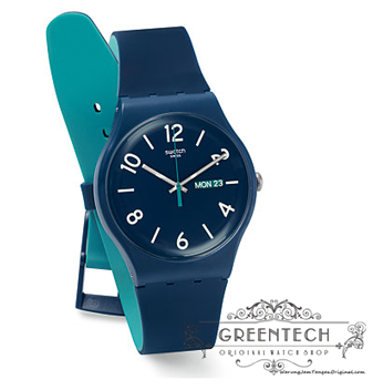 Swatch BACKUP BLUE SUON705