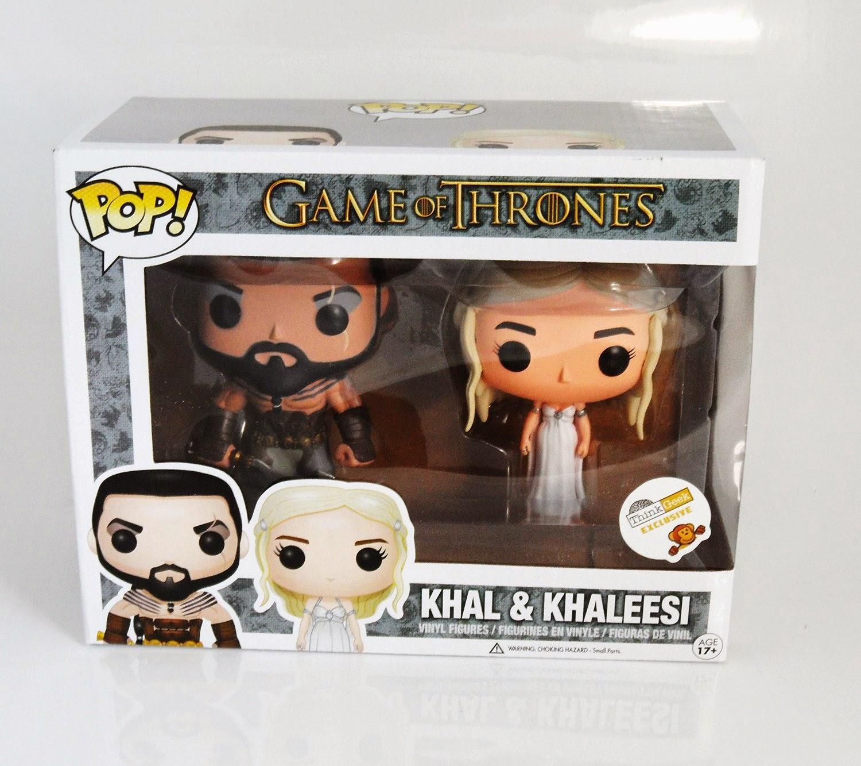 "Funko Pop! Khal & Khaleesi ""Wedding Set"" [Think Geek Exclusive]"