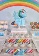 Rainbow Dash Pony Party