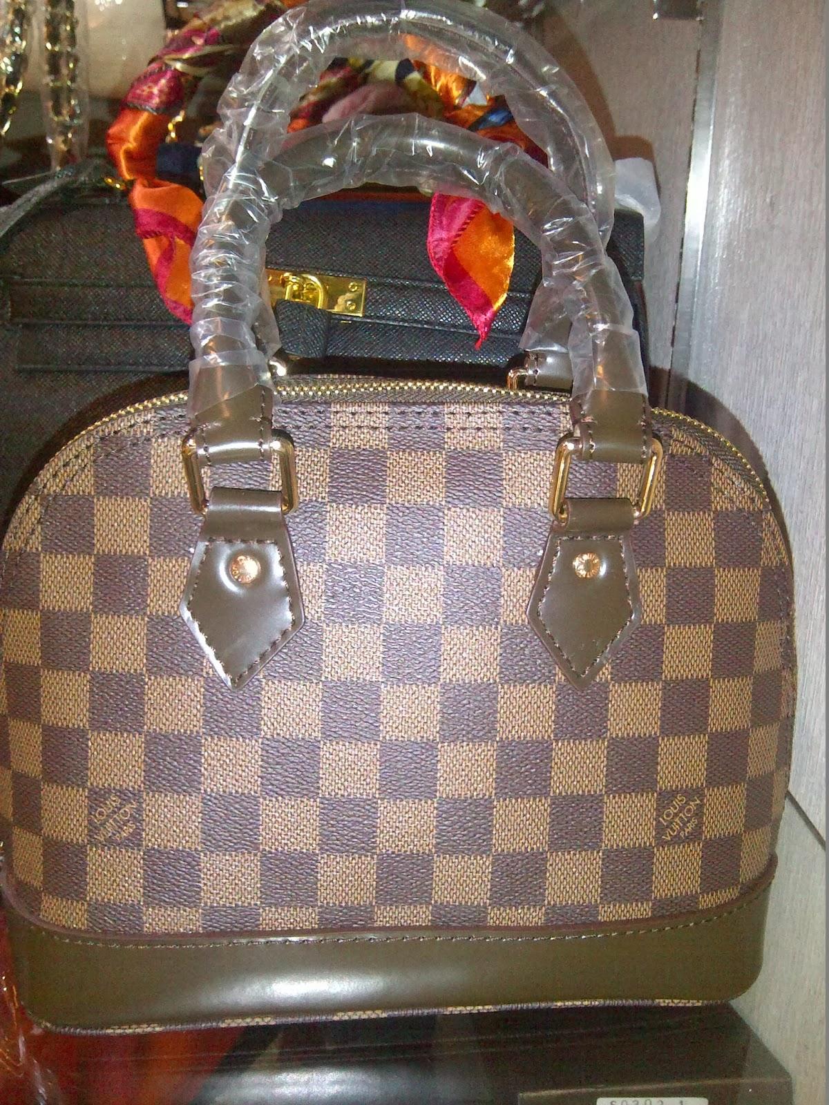 Jual Tas Cewek Branded Online Lv Alma Mini Uk 25cm Wanita Hand Bag Super Kulit Matang Mono Damier Azure Kelengkapan Sertidustbagkuncigembok
