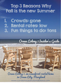 Fall Ocean City Insider's Guide www.condoinoceancitymaryland.com
