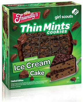 Mint-Cookie Ice Cream Made With Girl Scout Thin Mint Cookies Recipes ...