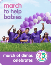 I'm walking for babies!