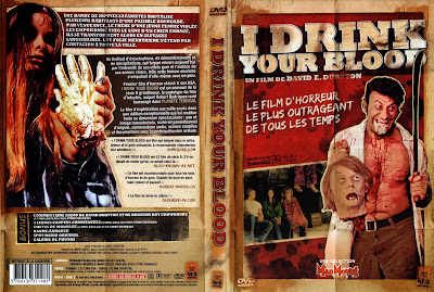 Me bebo tu sangre | 1970 | I Drink Your Blood | Cover, DVD, Carátula