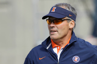 Illinois fires head coach Tim Beckham one week before 2015 season opener.