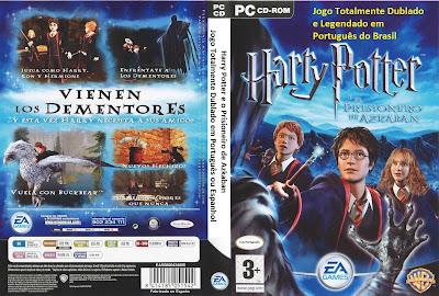 Harry Potter e o Prisioneiro de Azkaban DVD Capa