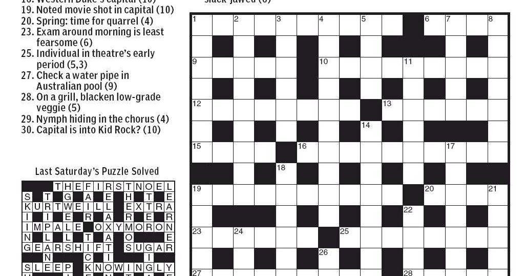 Small Island Crossword Clue  Letters