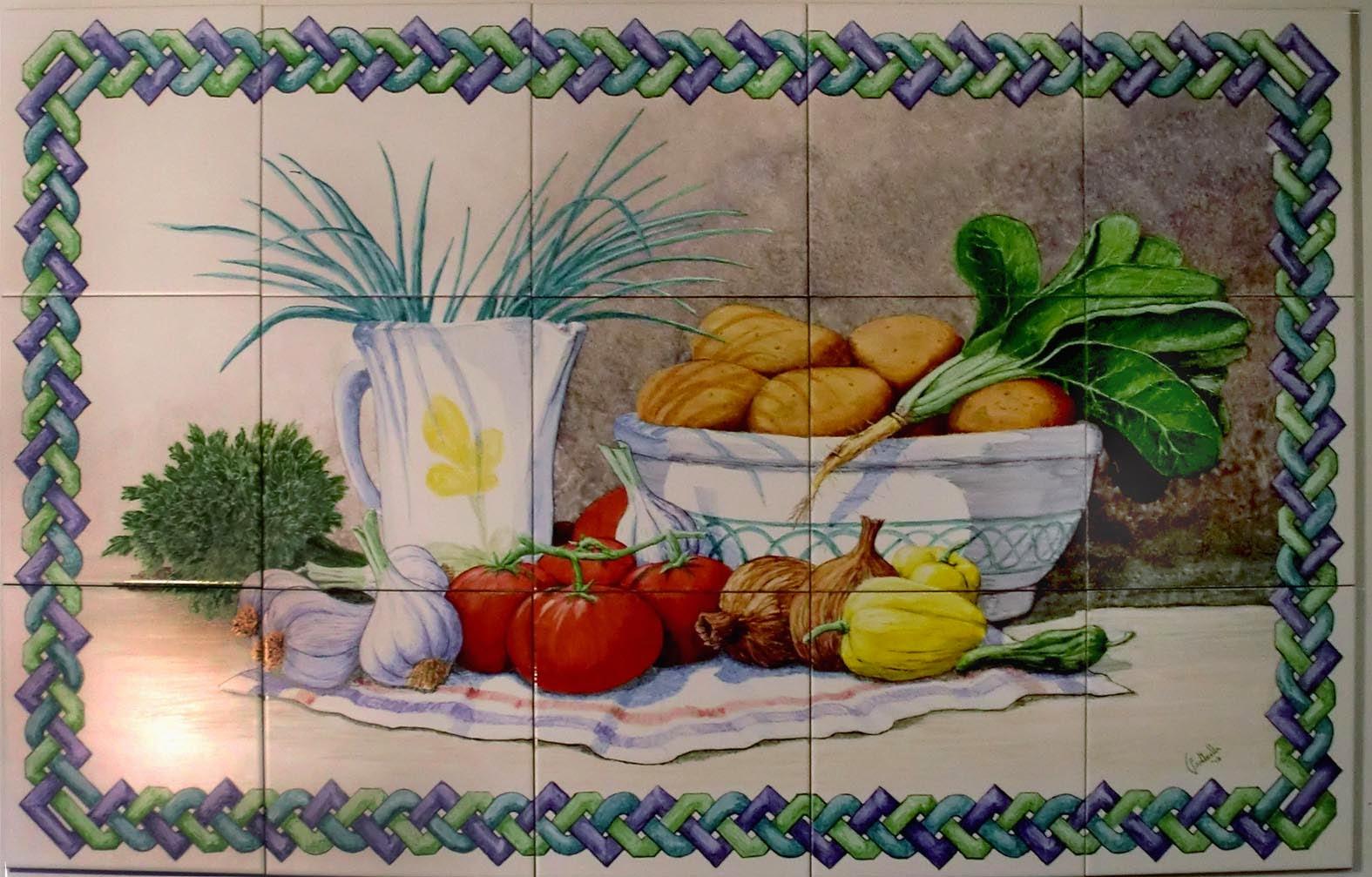 Cesar fontenla arte y dise o murales marzo 2014 - Murales de azulejos ...
