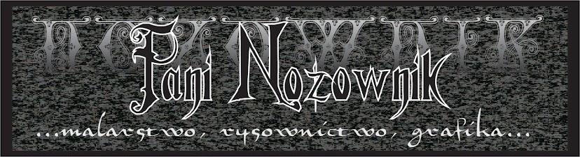 Pani Nożownik - Obrazy, rysunki
