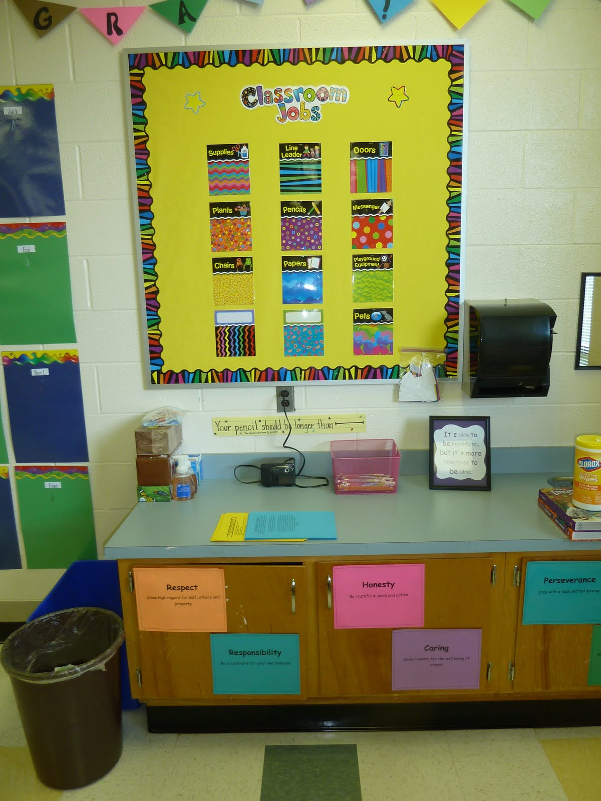 Classroom Decoration For Grade 5 : Images about classroom ideas on pinterest back to