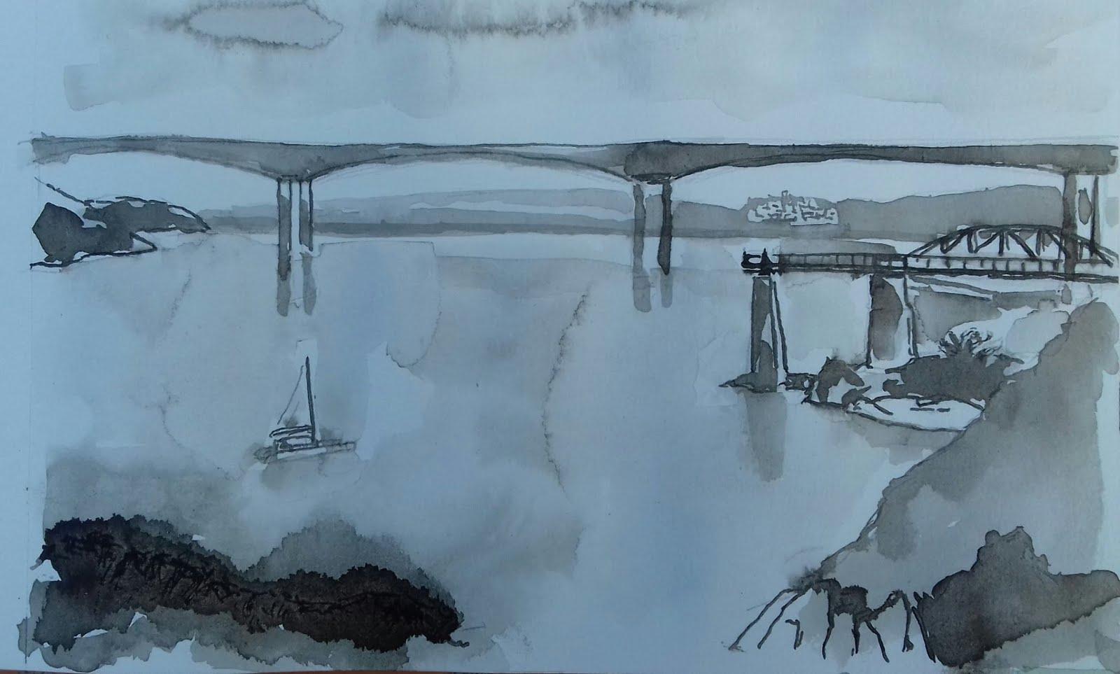 Ponte dos Santos en Ribadeo