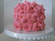 Spritsad tårta