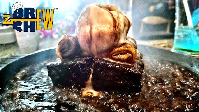 Noodle Bar Review, Sizzler Brownie in ice cream and chocolate sauce
