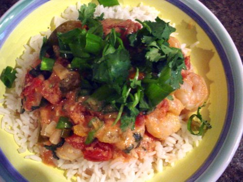 We can begin to feed...: Creamy Coconut Chicken