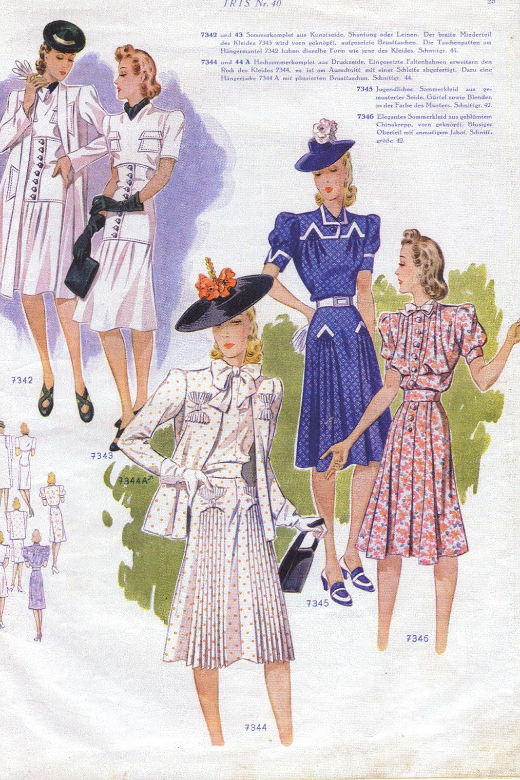 1940s fashion Glamourdaze 33