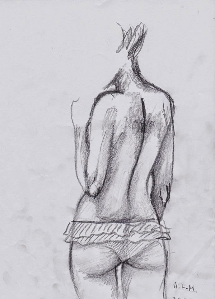 regenlied: weiblicher körper