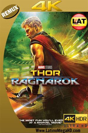 Thor: Ragnarok (2017) Latino Ultra HD BDREMUX 2160P ()