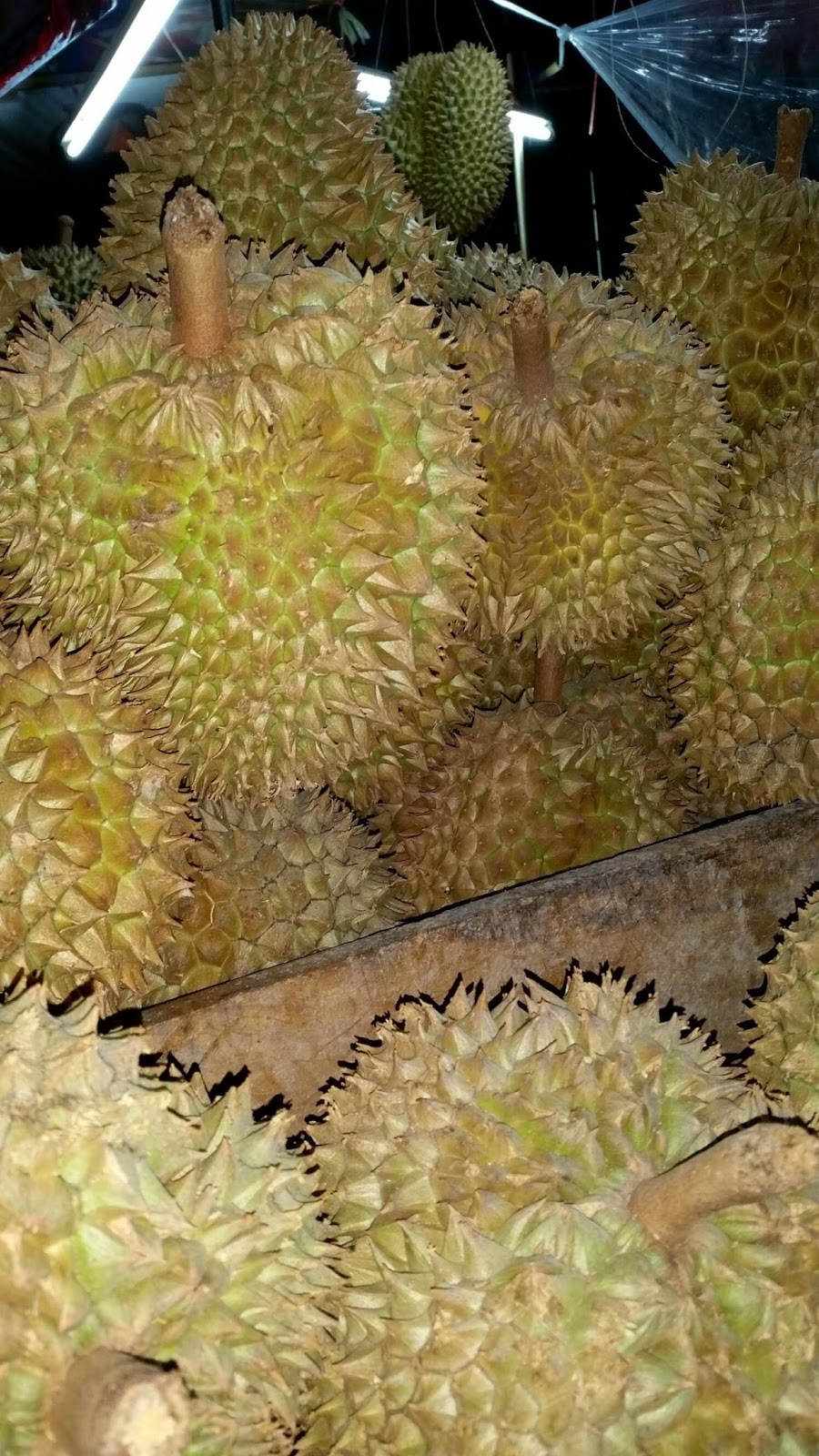 Buying Durian on the Streets of Bangkok