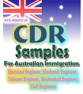 australia immigration cdr We deal with cdr for mechanical engineer australia immigration get cdr expert help by getting sample career episodes mechanical engineer to use as reference.