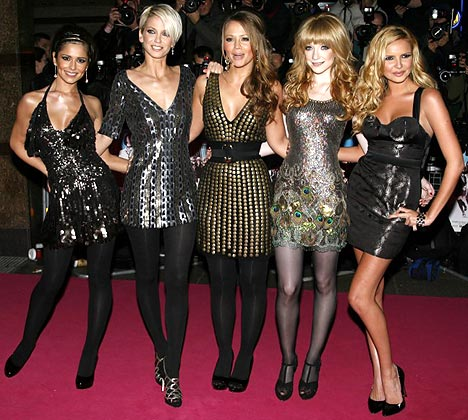 ... to Girls Aloud and tell them to BLOODY HURRY UP WITH YOUR COMEBACK.