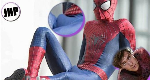 Andrew Garfield bulge spiderman