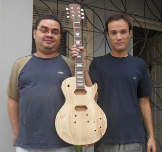 les paul luthier replica gibson Flávio