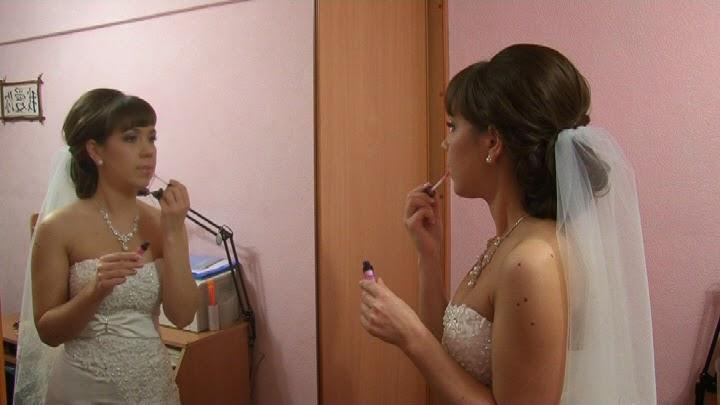видеосъемка сборов невесты и жениха