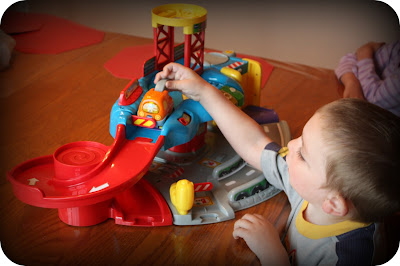 V Tech Garage : Mommy s reviews vtech go go smart wheels™ garage review giveaway