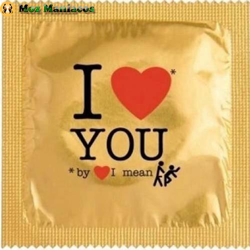 Preservativo I Love U