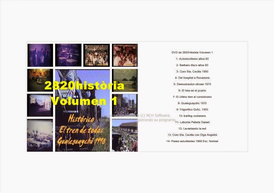 DVD 2820HISTORIA VOL.1