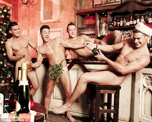 Geordie Shore Boys Strip In A Racy Shoot For Now Magazine