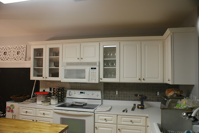 Saved by suzy feature friday anne from hello newman 39 s for Ceiling height kitchen cabinets