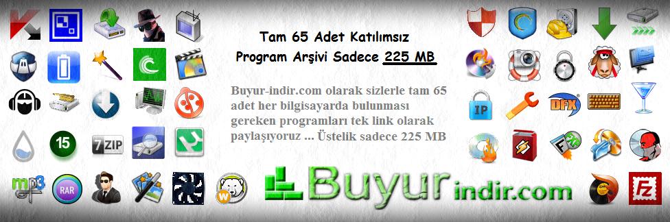 65 Adet Full Katılımsız Program Arşivi - (225 MB)