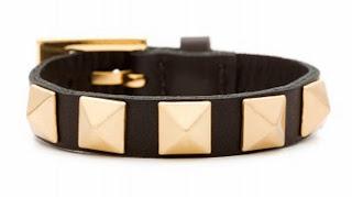 Holiday gift ideas under $100 leather studded bracelet