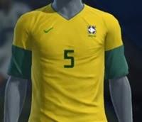 kaos jersey brazil