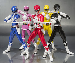 Bandai SH Figuarts Power Rangers - Full Team
