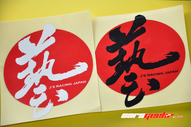 J'S Racing Japan vinyl 3