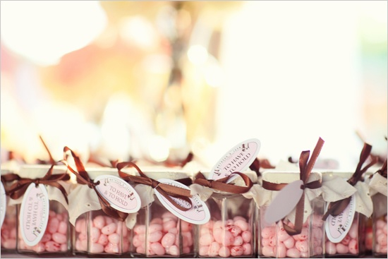 Candy in Weddings - Wedding Candy Favors