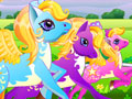 Jeu course de poneys - Pony Run