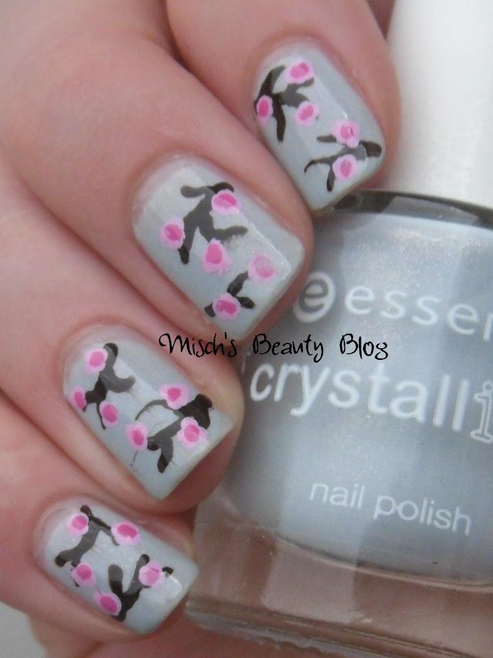 Misch\'s Beauty Blog: NOTD February 17th: Light Blue Cherry Blossom ...