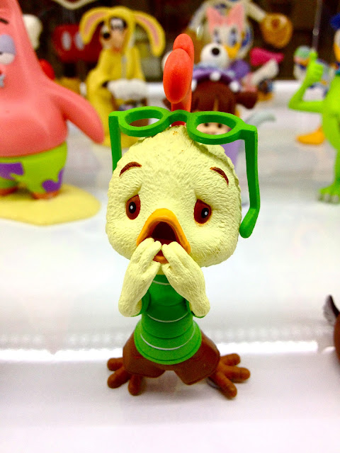 Chicken Little miniature at Singapore Toy Game and Comic Convention