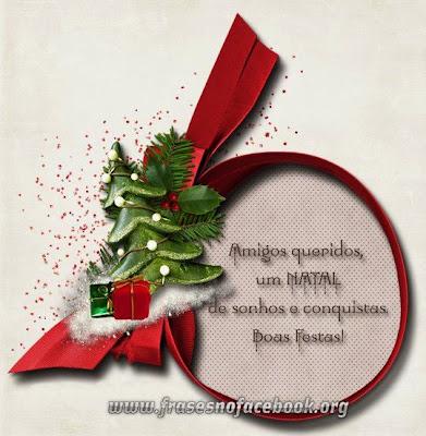 Frases e Mensagens de Natal para Facebook
