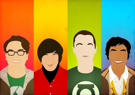 The Big Bang Theory (Ver. 2) por BantamArt