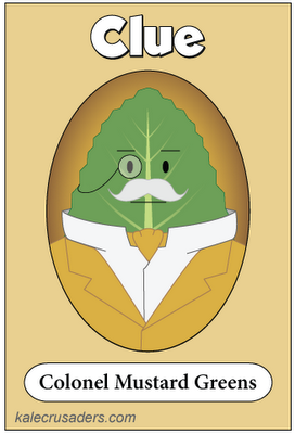 Clue - Colonel Mustard Greens