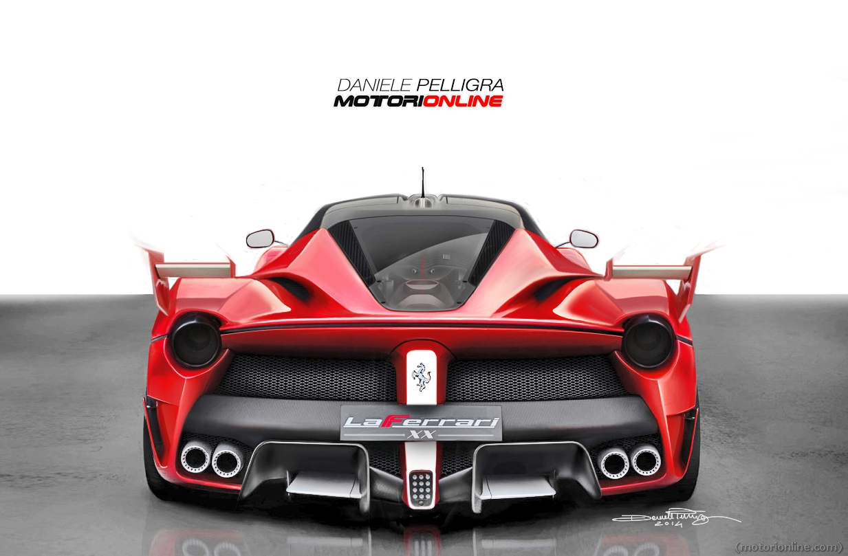 Ferrari S New Laferrari Xx Track Monster Visualized