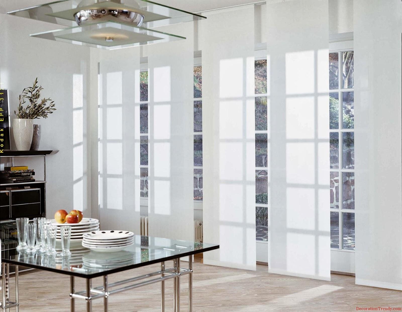 Féminité: meilleurs modèles de rideaux et rideaux design: comment ...