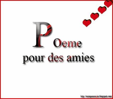 Te rencontrer poeme